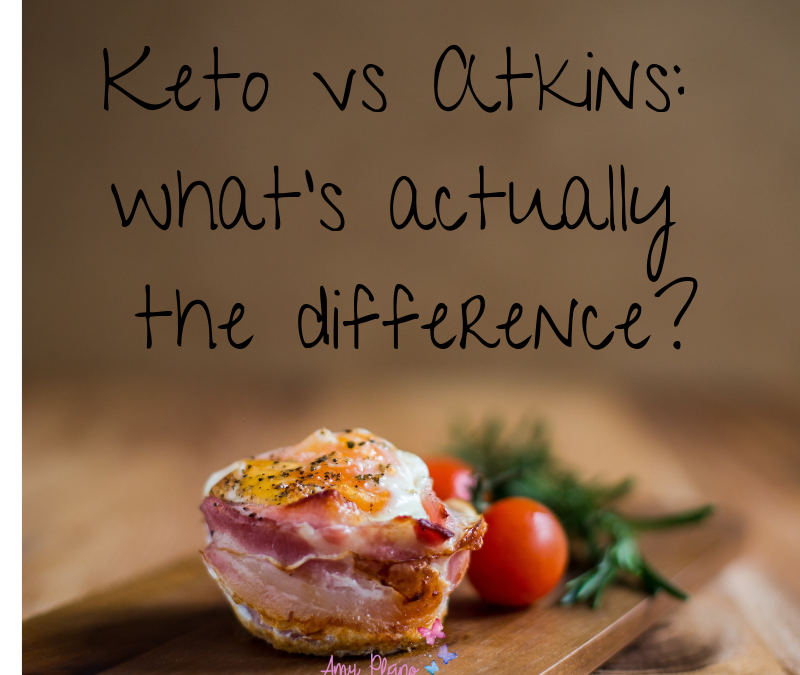 Keto vs Atkins: what's actually the difference?
